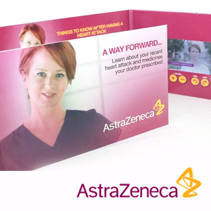 Astra Zeneca Video Brochure