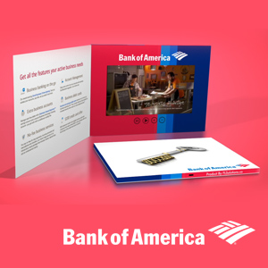 Bank of America Video Brochure