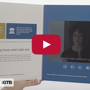 "Video Brochure - 10"" Screen, 5 Menu Buttons - Product Example: iGTB"