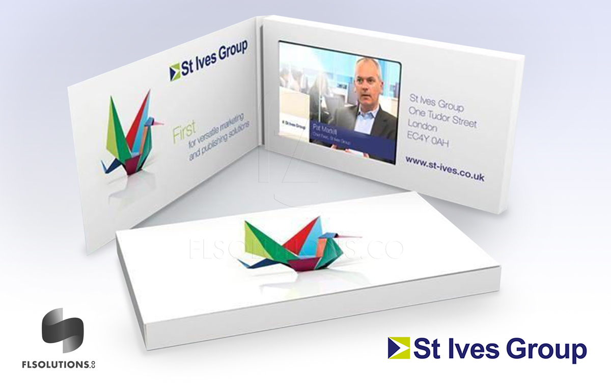 Video Integrated Solutions (VIS): Video Business Cards