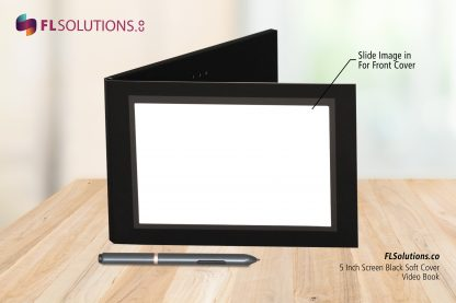 Ready-2-Go R2G Video Brochure 5 inch by 7 inch Black Soft Cover Front Cover