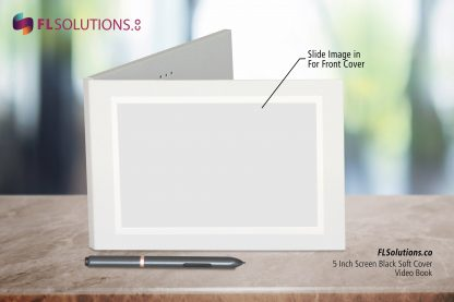 Ready-2-Go R2G Video Brochure 5 inch by 7 inch White Soft Cover Front Cover